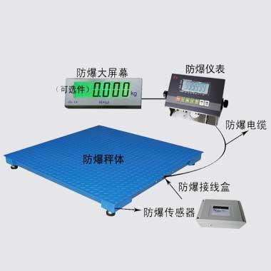 2t本安型防爆電(dian)子平台秤