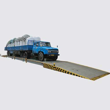 3.4*18m SCS-200T 帶兩頭引坡(po)數字式電(dian)子汽車衡